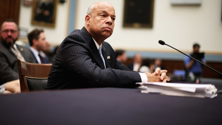 U.S. Homeland Security Secretary Jeh Johnson testifies before the House Judiciary Committee about oversight of the department July 14, 2015 in Washington, D.C. (Photo by Chip Somodevilla/Getty)