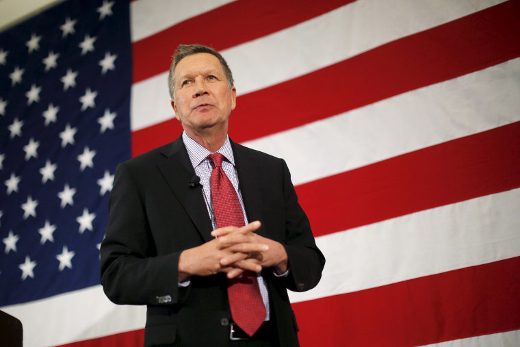 Republican 2016 presidential candidate John Kasich (Photo by Brian Snyder/Reuters).