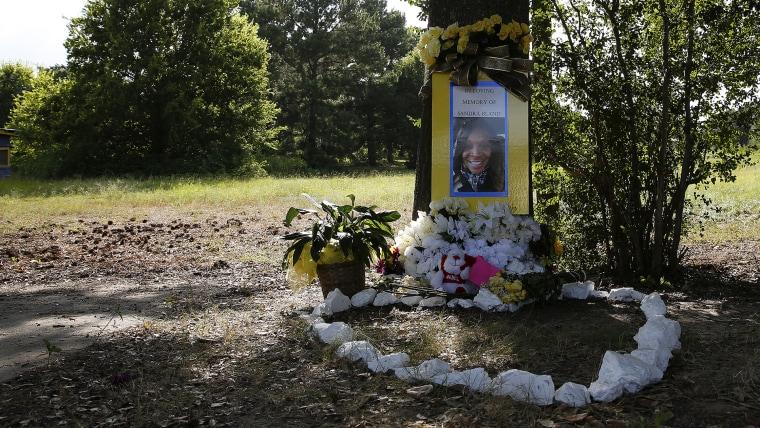 Sandra Bland Memorial (Photo by Aaron M. Sprecher/EPA).