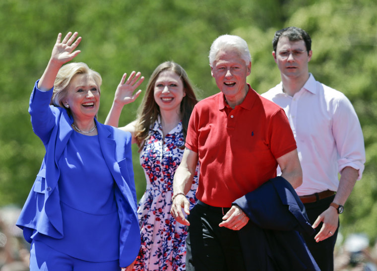 Hillary Rodham Clinton, Bill Clinton, Chelsea Clinton, Marc Mezvinsky