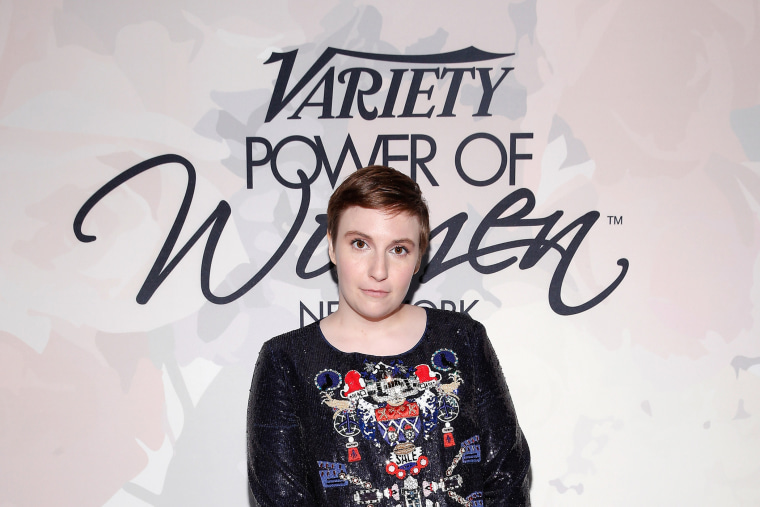 Lena Dunham attends Variety's Power of Women New York (Photo by Brian Ach/Getty).