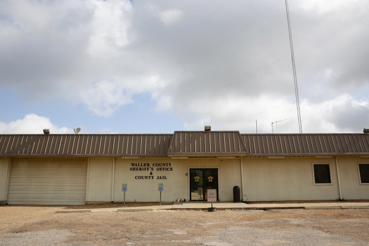 A general view of the Waller County Jail is seen in Hempstead, Texas, July 21, 2015. (Photo by Aaron M. Sprecher/EPA)