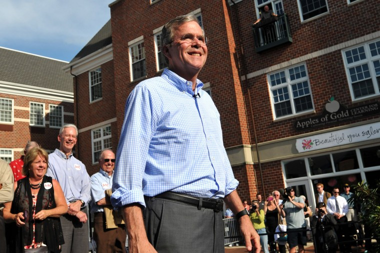 Republican Presidential Candidate Jeb Bush (Photo by Steve Pope/Getty).