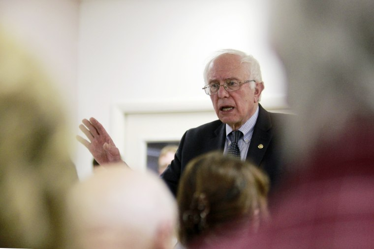 Democratic U.S. presidential candidate Senator Bernie Sanders speaks during a town hall meeting at Trinity Episcopal Church while campaigning in Charlottesville, Va. on May 11, 2015. (Photo by Jay Paul/Reuters)
