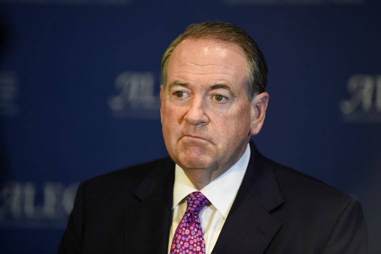 Mike Huckabee (Photo by Denis Poroy/AP).