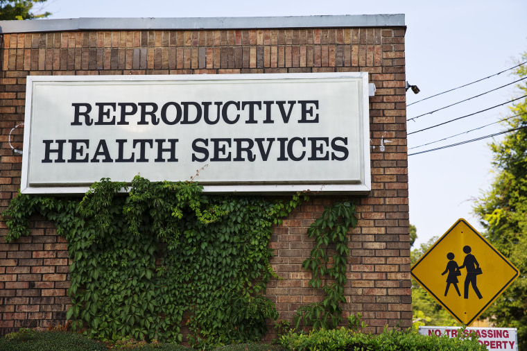 Reproductive Health Services is shown in Montgomery, Ala. (Photo by Brynn Anderson/AP).