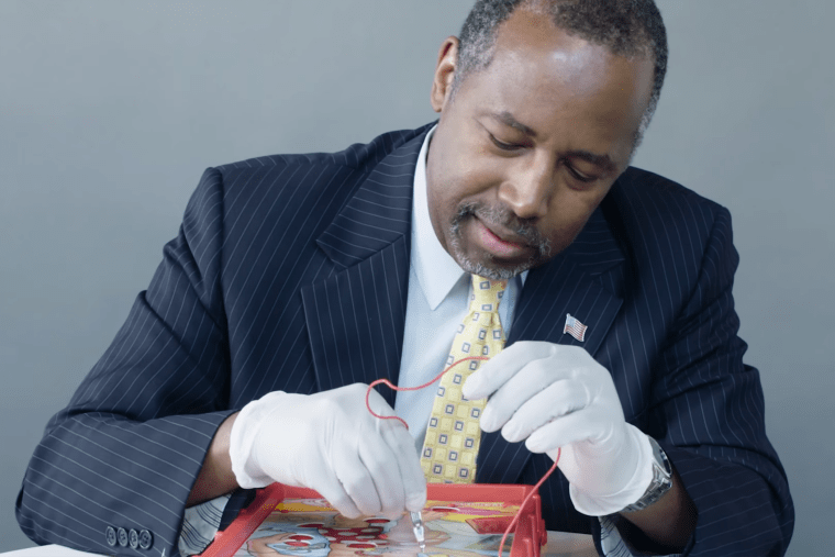 Scene from How to Beat Operation with Dr. Ben Carson. (Photo by IJReview)