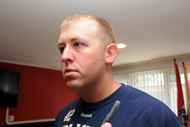 Ferguson police officer Darren Wilson (Photo by St. Louis County Prosecutor's Office/Getty).