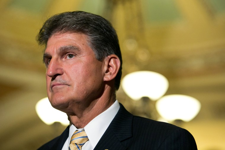 Sen. Joe Manchin (D-WV) (Photo by Drew Angerer/Getty).