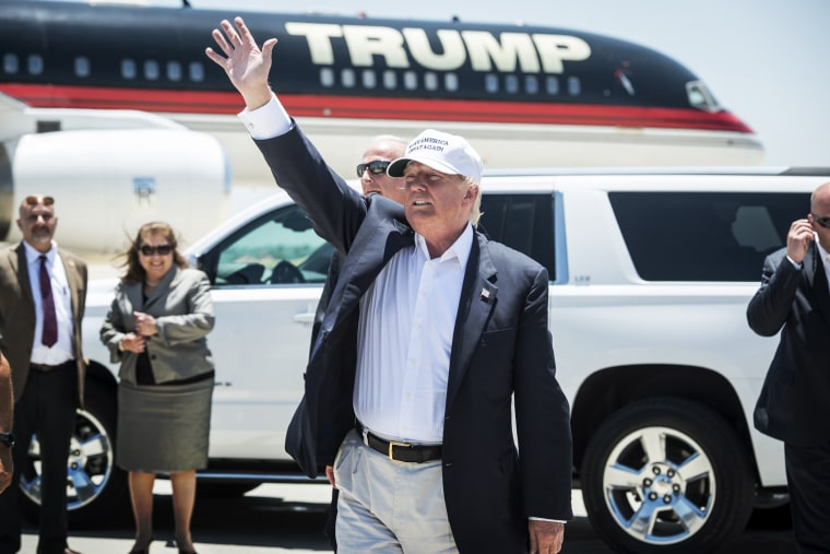 Republican Presidential candidate and business mogul Donald Trump (Photo by Matthew Busch/Getty).