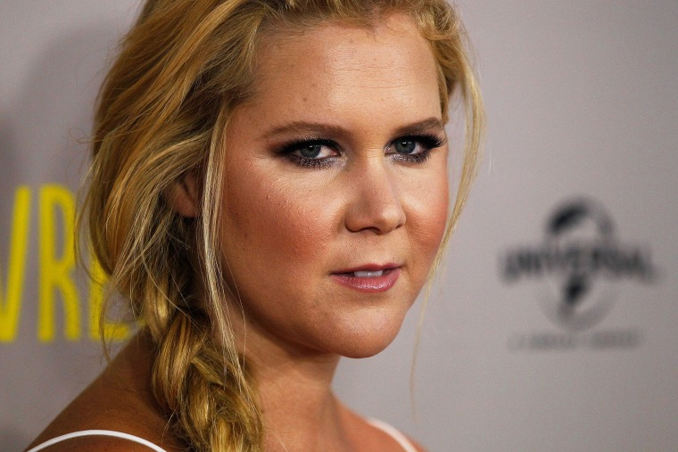 Amy Schumer arrives at the Trainwreck Australian premiere at Event Cinemas George Street on July 20, 2015 in Sydney, Australia. (Photo by Brendon Thorne/Getty)