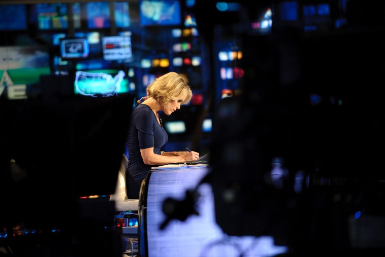 Megyn Kelly on Fox News (Photo by Jon Vachon/The Washington Post/Getty)