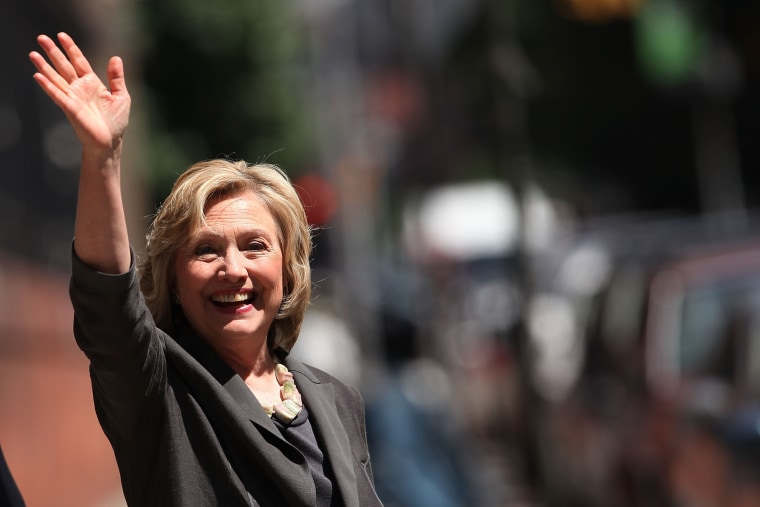 Democratic presidential frontrunner Hillary Clinton in New York, N.Y. on Jul. 24, 2015 (Photo by Spencer Platt/Getty).