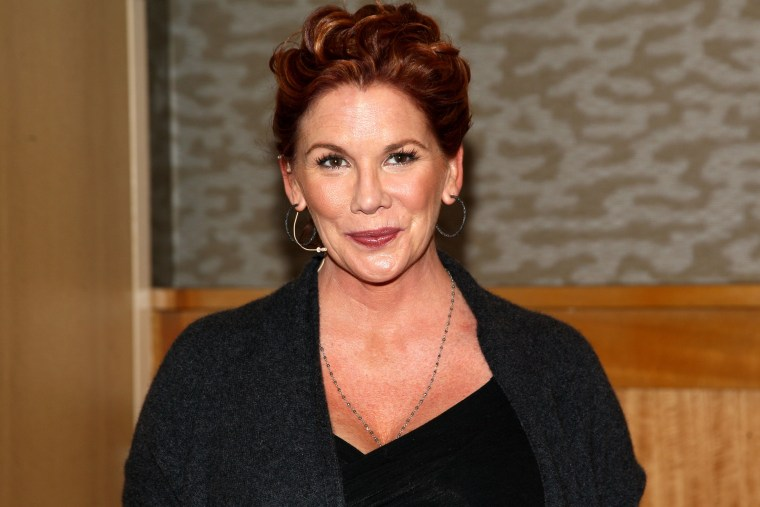 Melissa Gilbert visits Barnes & Noble on Jan. 21, 2014 in New York City. (Photo by Steve Mack/FilmMagic/Getty)