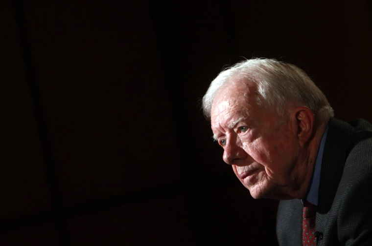 Former U.S. President Jimmy Carter in 2012. (Photo by Amr Dalsh/Reuters)