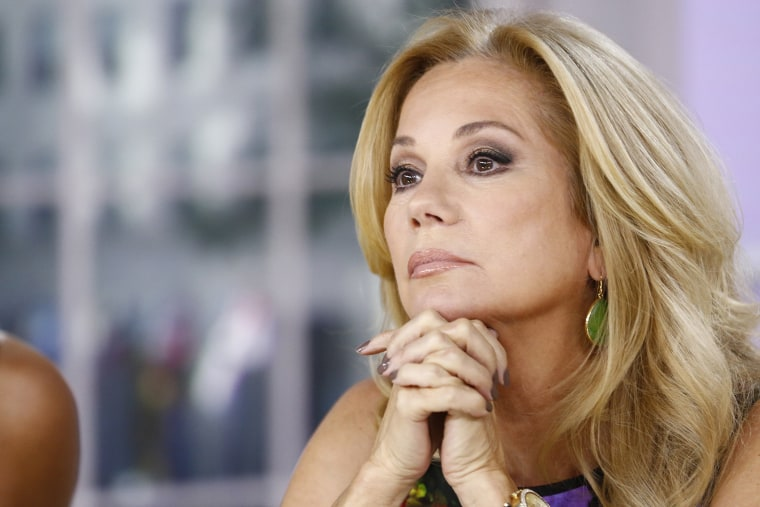 "Kathie Lee Gifford appears on NBC News' ""Today"" show. (Photo by Peter Kramer/NBC/NBC NewsWire)"