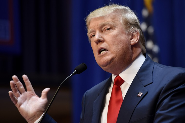 Donald Trump Announces Candidacy to be President of the United States