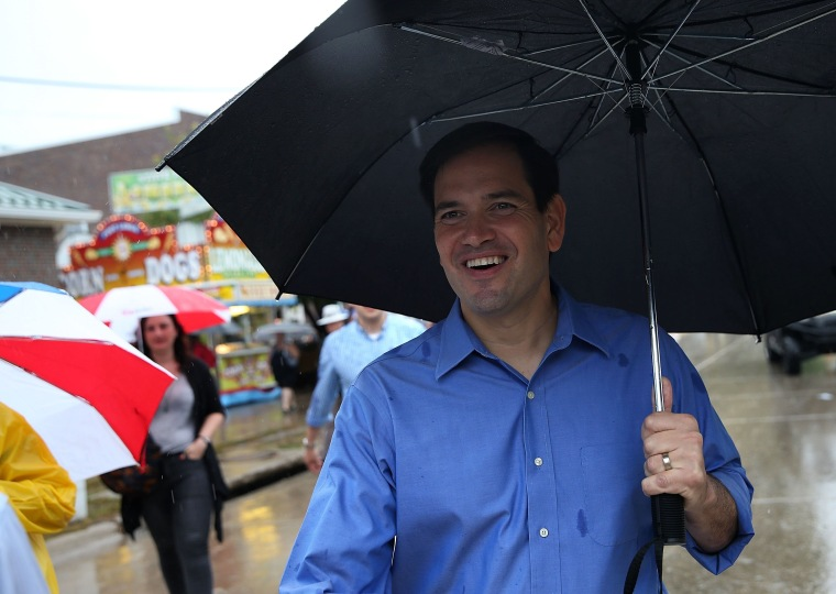 Image: Presidential Candidates Stump At Iowa State Fair