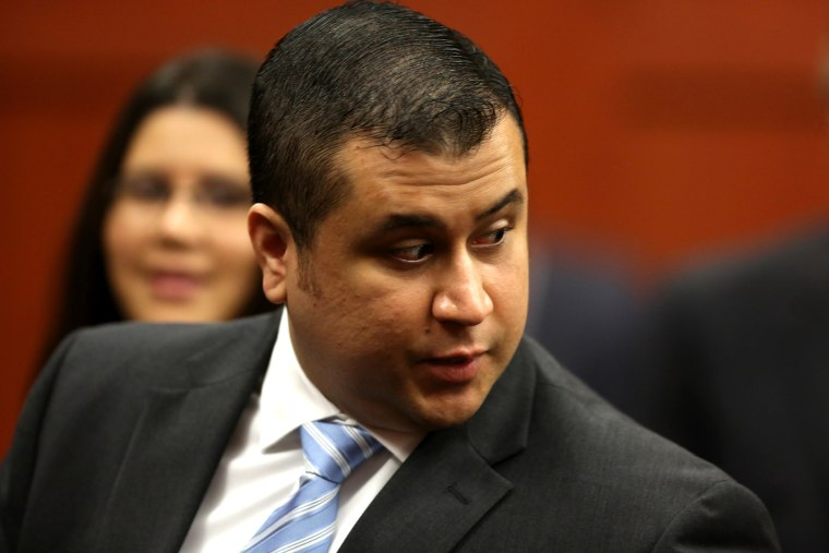 George Zimmerman is pictured at the Seminole County Courthouse, July 1, 2013, in Sanford, Fla. (Photo by Joe Burbank/Orlando Sentinel/Pool/AP)