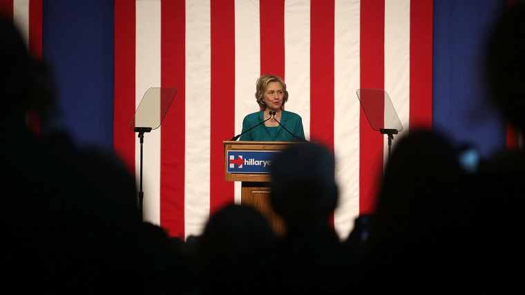 Democratic Presidential hopeful and former Secretary of State Hillary Clinton gives a policy speech at the Florida International University on July 31, 2015 in Miami, Fla. (Photo by Joe Raedle/Getty)