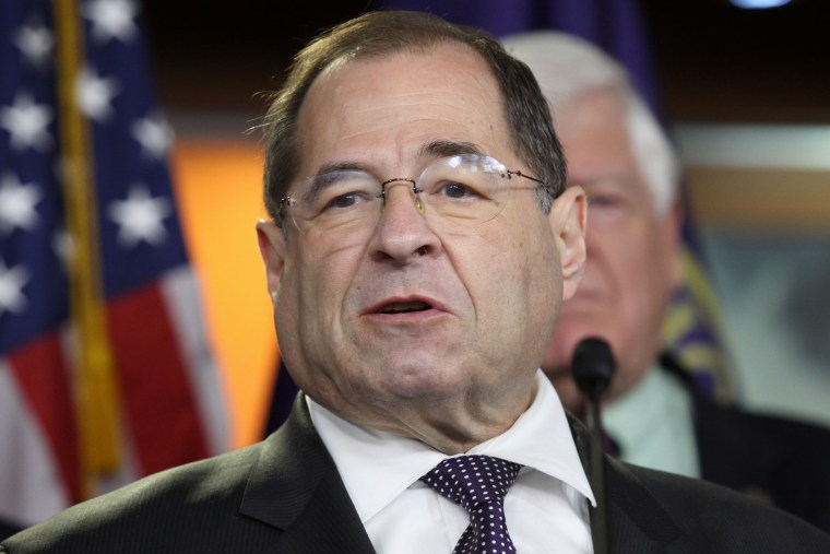 In this June 16, 2015 file photo, Rep. Jerrold Nadler, D-N.Y. speaks during a news conference on Capitol Hill in Washington, D.C. (Photo by Lauren Victoria Burke/AP)