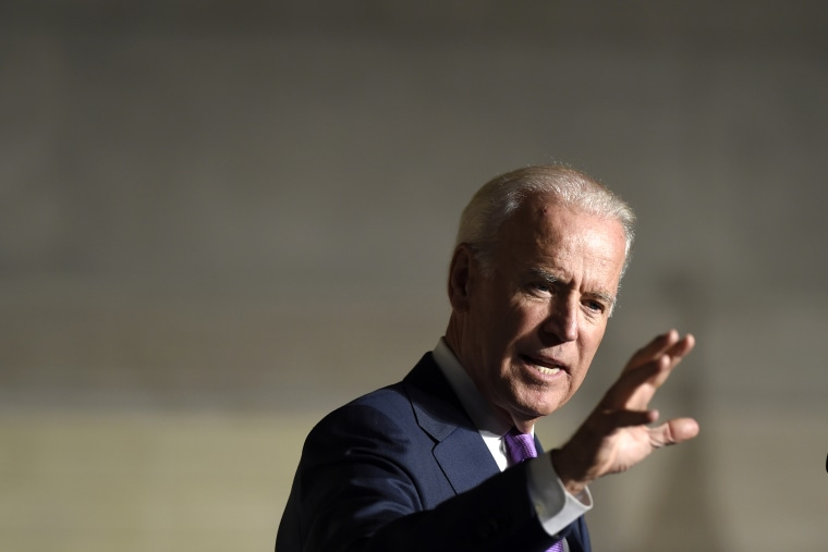 Vice President Joe Biden speaks at an event in Washington, D.C., on Sept. 9, 2014. (Photo by Susan Walsh/AP)