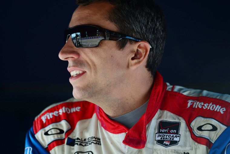 Justin Wilson, driver of the #19 Dale Coyne Racing Dallara Honda, during qualifying for the Verizon IndyCar Series Chevrolet Indy Dual on June 1, 2014 in Detroit, Mich. (Photo by Robert Laberge/Getty)