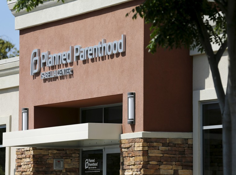 A Planned Parenthood clinic is seen in Vista, Calif., Aug. 3, 2015. (Photo by Mike Blake/Reuters)