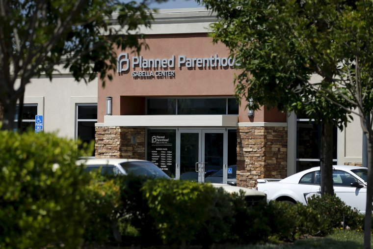 A Planned Parenthood clinic is seen in Vista, Calif., Aug, 3, 2015. (Photo by Mike Blake/Reuters)