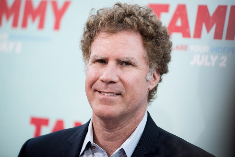 """Will Ferrell arrives at the LA Premiere of \""""Tammy\"""" held at TCL Chinese Theatre on June 30, 2014, in Los Angeles, Calif. (Photo by Richard Shotwell/Invision/AP)"""