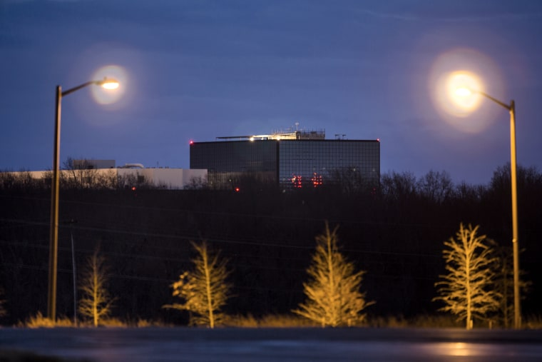 The headquarters of the National Security Agency (NSA) in Fort Meade, Md. on Dec. 22, 2013. (Photo by Jim Lo Scalzo/EPA)