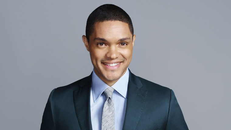 The Daily Show's newest host, Trevor Noah. (Photo by Peter Yang/Comedy Central)