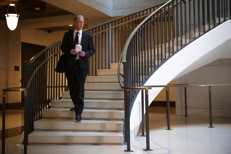 Committee chairman Rep. Trey Gowdy (R-SC) arrives for a closed-door deposition before the House Select Committee on Benghazi on Sept. 3, 2015 on Capitol Hill in Washington, D.C. (Photo by Alex Wong/Getty)