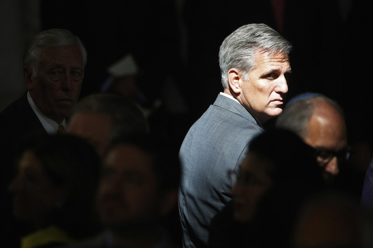 Kevin McCarthy is seen in the rotunda of the U.S. Capitol in Washington, June 26, 2014. (Photo by Jonathan Ernst/Reuters)