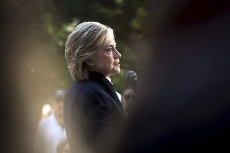 U.S. Democratic presidential candidate Hillary Clinton speaks during a community forum campaign event at Cornell College in Mt Vernon, Iowa, Oct. 7, 2015. (Photo by Scott Morgan/Reuters)