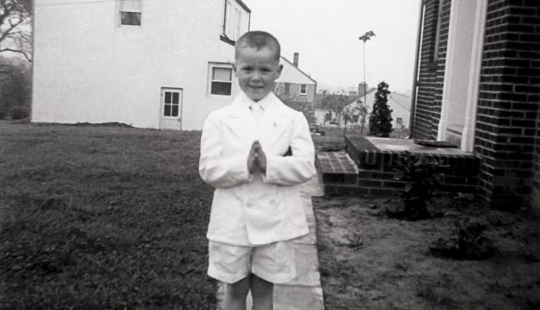 Chris Matthews at his First Holy Communion.