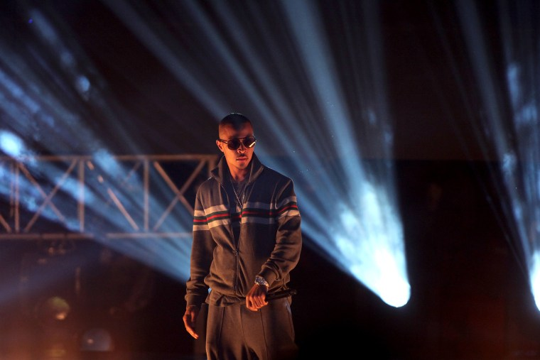 Rapper T.I. performs during the BET Hip Hop Awards, Oct. 1, 2011 in Atlanta, Ga. (Photo by David Goldman/AP)