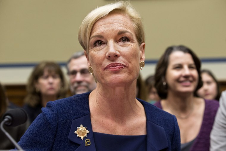 Planned Parenthood Federation of America President Cecile Richards listens while testifying on Capitol Hill in Washington, Sep. 29, 2015, before the House Oversight and Government Reform Committee hearing. (Photo by Jacquelyn Martin/AP)