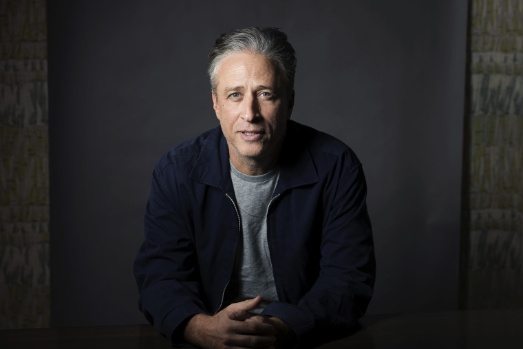 In this Nov. 7, 2014 file photo, Jon Stewart poses in New York. (Photo by Victoria Will/Invision/AP)