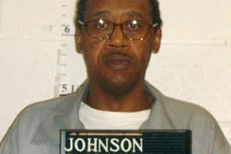 This photo shows Ernest Johnson, convicted of killing three Columbia, Mo. convenience store workers with a claw hammer in 1994. (Photo by Missouri Department of Corrections/AP)