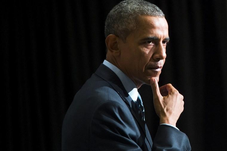 President Barack Obama speaks during an event in Newark, N.J., on Nov. 2, 2015. (Photo by Saul Loeb/AFP/Getty)