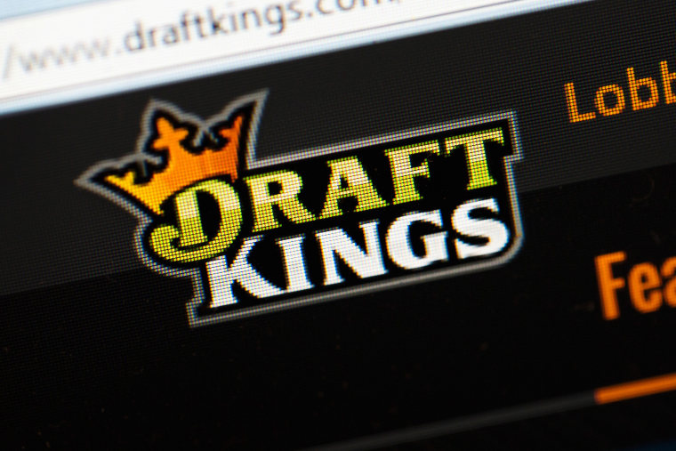 The fantasy sports website DraftKings is shown on Oct. 16, 2015 in Chicago, Ill. (Photo by Scott Olson/Getty)