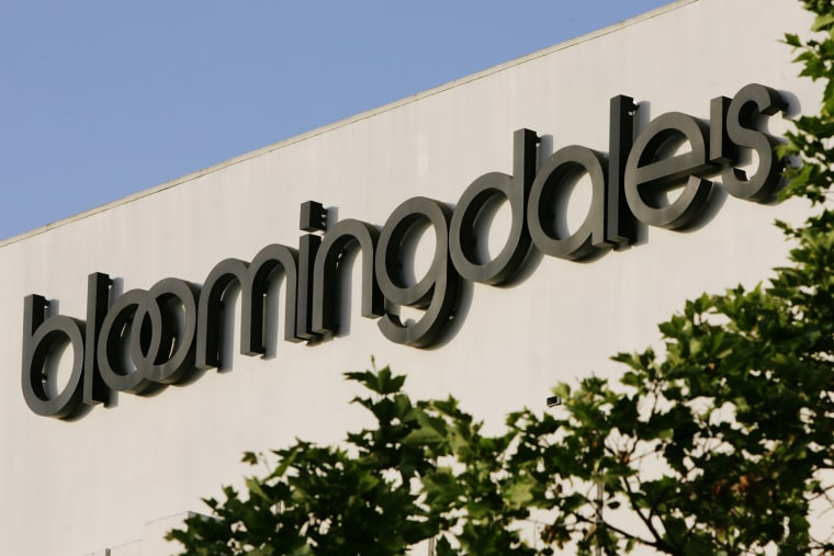 An exterior view of Bloomingdale's Department Store is shown in Palo Alto, Calif., May 10, 2006. (Photo by Paul Sakuma/AP)