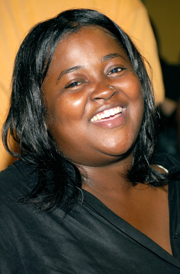 Author Sister Souljah appears at an event July 13, 2002 at Madison Square Garden in New York, N.Y. (Photo by Lawrence Lucier/Getty)