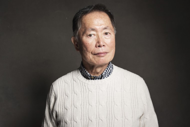 George Takei poses for a portrait on Jan. 18, 2014 in Park City, Utah. (Photo by Victoria Will/Invision/AP)