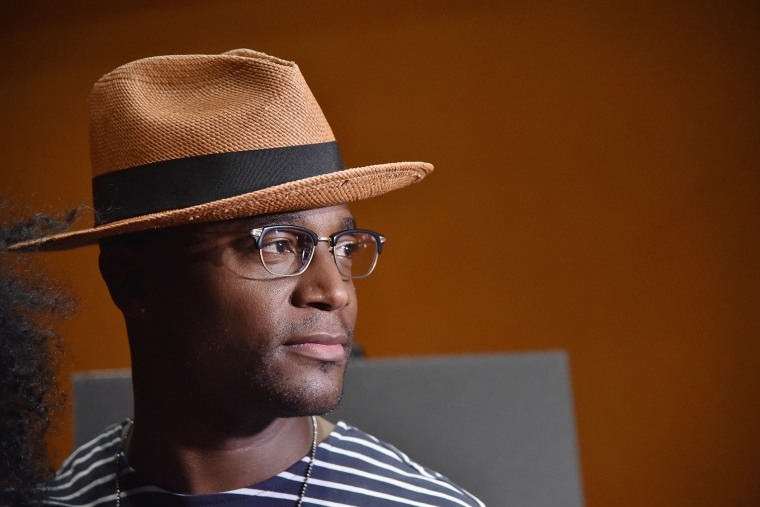 Taye Diggs poses for a picture on June 30, 2015 in New York, N.Y. (Photo by Mike Coppola/Getty)