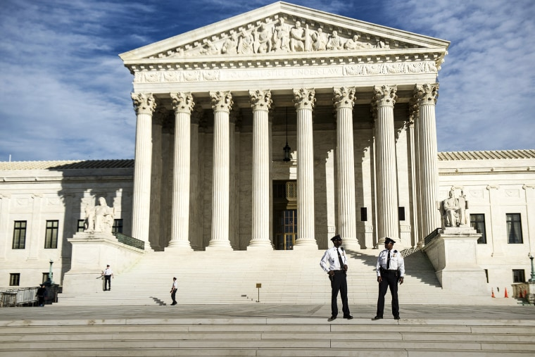 The Supreme Court Building on Capitol Hill in Washington, Nov. 6, 2013. (Photo by Gabriella Demczuk/The New York Times/Redux)