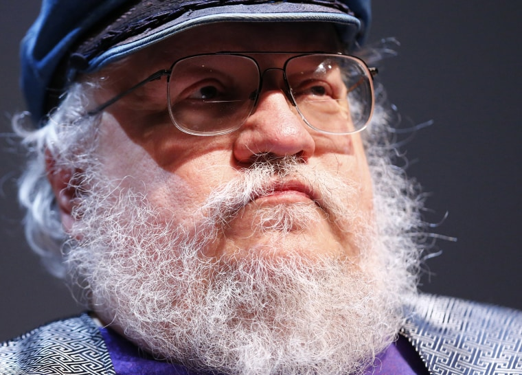 """George R.R. Martin, author of the fantasy series that is the basis of the television series """"Game of Thrones"""", at his masterclass at the Neuchatel International Fantastic Film Festival in Neuchatel, July 10, 2014. (Photo by Denis Balibouse/Reuters)"""