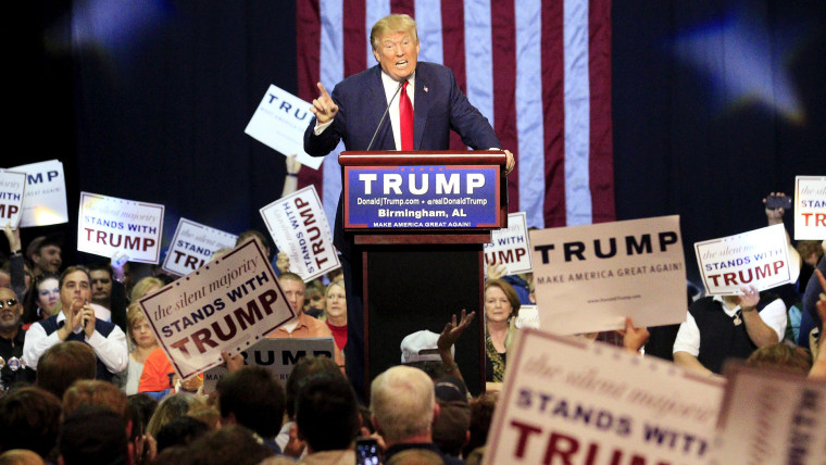 U.S. Republican presidential candidate Donald Trump speaks at a rally at the Birmingham Jefferson Civic Complex in Birmingham, Ala., Nov. 21, 2015. (Photo by Marvin Gentry/Reuters)