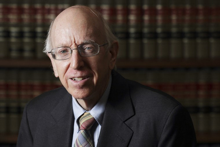Federal Judge Richard Posner poses in his chambers in Chicago, July 2, 2012. (Photo by John Gress/Reuters)